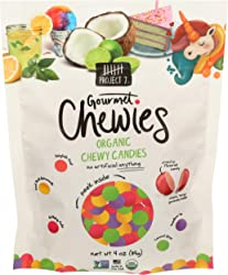 Project 7, Organic Chewy Candies, 4 Ounce