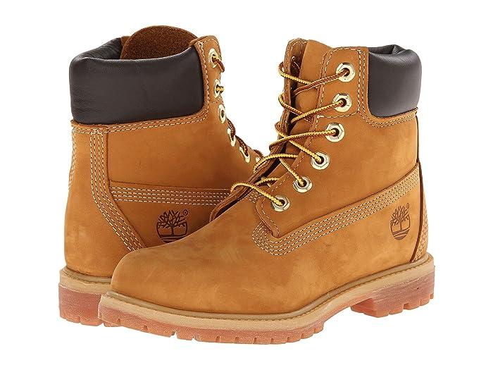 Timberland  6 Premium Boot (Wheat Nubuck) Womens Lace-up Boots
