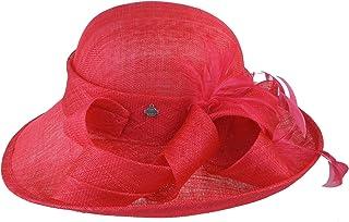 Seeberger Sinamay Hut ivory//light grey Stroh Anlass Hut festlich Braut Hüte eleg
