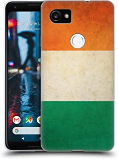 Head Case Designs Ireland Irish Vintage Flags Soft Gel Case Compatible for Google Pixel 2 XL