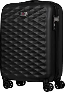 Wenger 604336 Lumen Hardside Carry-On Luggage, Black, 55 Centimeters