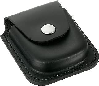 Charles-Hubert, Paris 3572-4 Black Leather 48mm Pocket Watch Holder