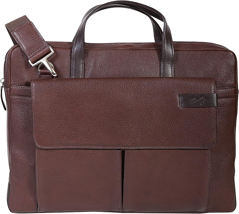 Scully Sierra Leather Top Zip Closure Workbag