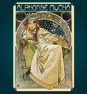 Alphonse Mucha 2019 Wall Calendar