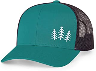 | Trucker Snapback Baseball Hat - Tree