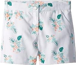Floral Palm Print