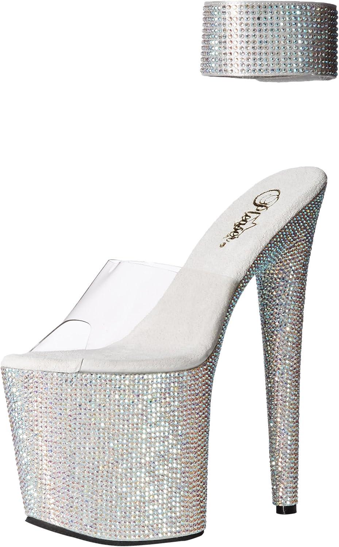 Pleaser Womens BEJ812RS C SMCRS Dress Sandal