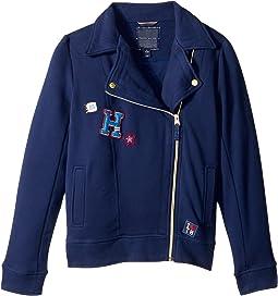 Tommy Hilfiger Kids - Moto Fleece Jacket (Big Kids)