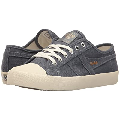 Gola Coaster Linen (Slate Blue/Off-White) Women