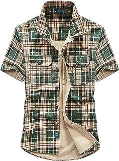Amazon.es: camisa militar hombre