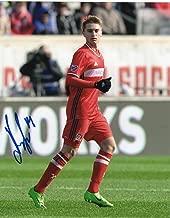 Djordje Mihailovic signed 8x10 Photo w/COA Chicago Fire MLS Soccer #1 - Autographed Soccer Photos