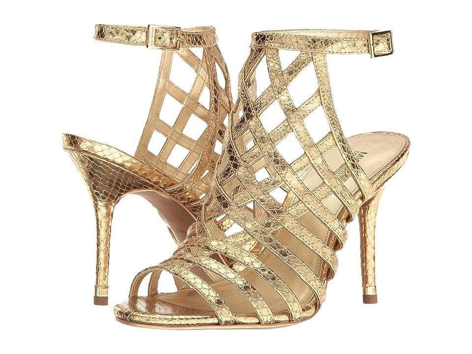 MICHAEL Michael Kors Trinity Sandal (Pale Gold) Women