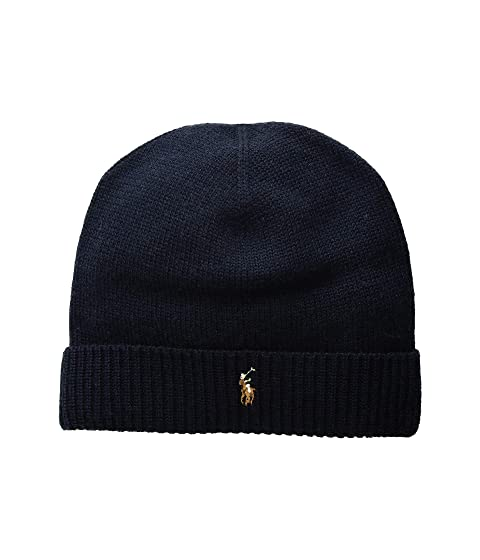 Polo Ralph Lauren Classic Lux Merino Cuff Hat at Zappos.com ad65d82af8d7