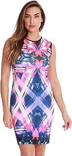 Just Love Bodycon Neoprene Dress with Vivid Digital Print