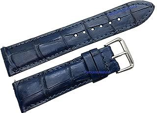 Vietnamcreations Men's Genuine Crocodiile Leather Watch Strap Band