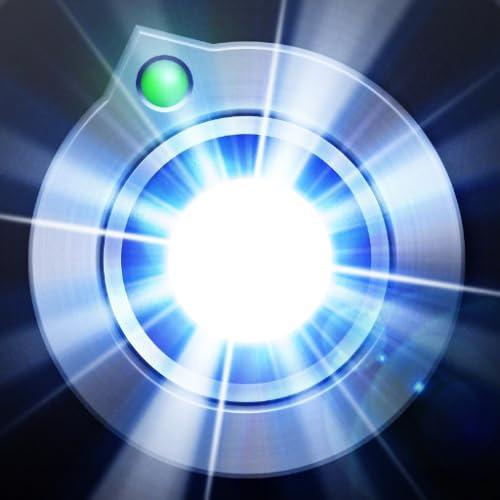 Súper linterna - Brújula y luz LED brillante