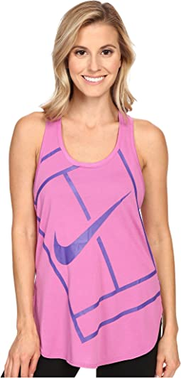 Court Baseline Tennis Tank Top