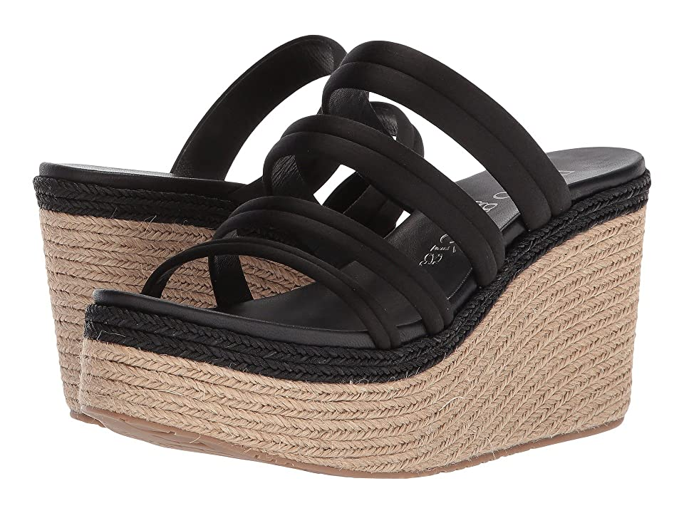 bf9ec2d4b63 Pedro Garcia Dante 614 (Black Satin) Women s Sandals