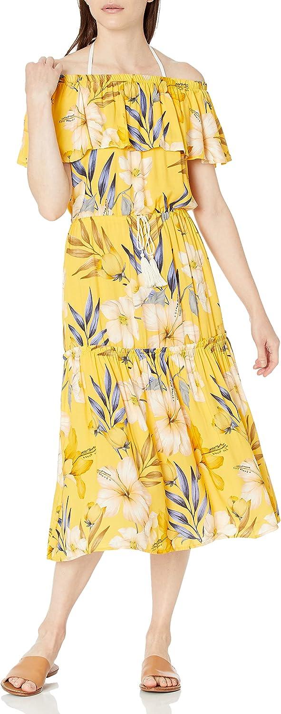 La Blanca Women's Standard Off The Shoulder Cover-up Dress