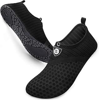 Water Shoes Womens and Mens Quick-Dry Aqua Socks Barefoot...