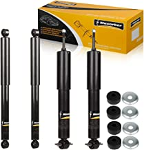 Maxorber Full Set of 4 Shocks Struts Absorber Kit Compatible with Chevrolet Silverado 1500,Gmc Sierra 1500 2WD 1999 2000 2001 2002 2003 2004 2005 2006 Shock Absorber 344380 344380 344365 344365