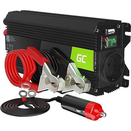 Green Cell Pro 500W/1000W 24V 220V/230V Convertisseur de Tension Camion Solaire Modifiée Volts Sinus Power Inverter sinusoïdale DC AC, Onduleur Transformateur