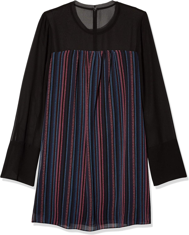BCBGeneration 上質 Women's Long Sleeve Dress 定番キャンバス A-Line