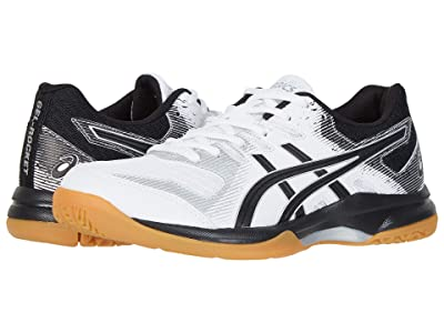 ASICS GEL-Rocket(r) 9 (White/Black) Women