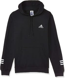 adidas mens Mens Essentials Comfort Hooded Sweatshirt T-Shirt