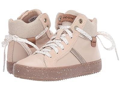 Geox Kids Geox x WWF Jr Kalispera 28 (Little Kid) (Light Beige) Girls Shoes