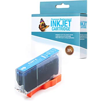 Cyan,1 Pack SuppliesOutlet Compatible Ink Cartridge Replacement for Canon CLI-221C CLI221C 2947B001
