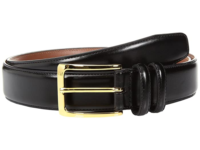Johnston and Murphy  Classic Dress (Black) Mens Belts