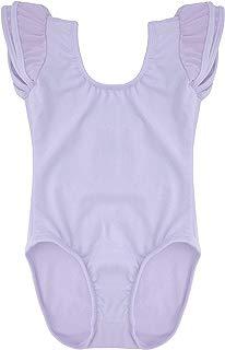 Dancina Flutter Short Sleeve Leotard for Girls