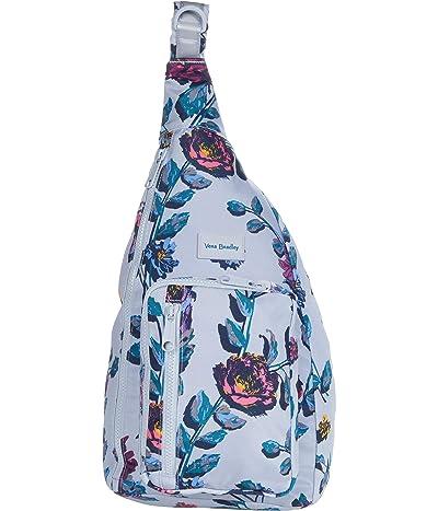 Vera Bradley ReActive Sling Backpack (Neon Ivy) Backpack Bags