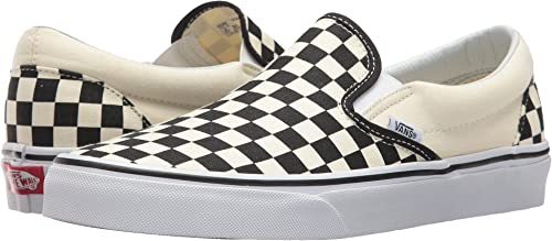 Vans Classic Slip On schwarz Off Weiß Checkerboard VN-0EYEBWW Mens US 10