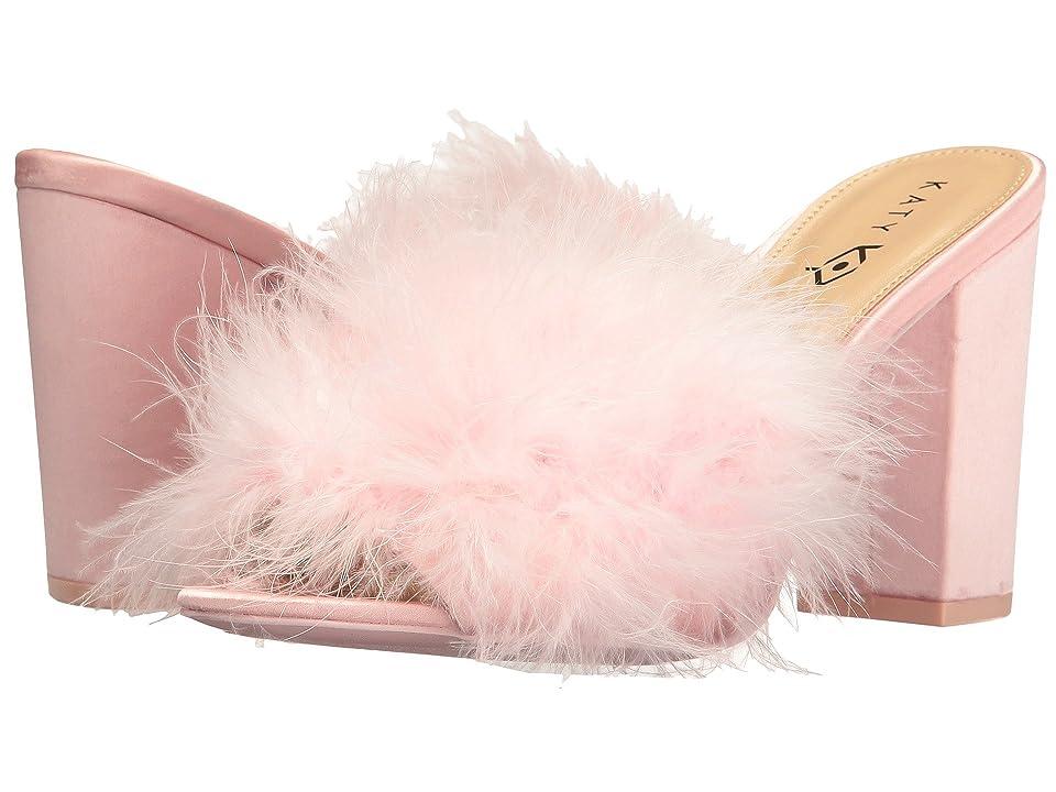 Katy Perry The Bon-Bon (Baby Pink Satin/Feather) Women