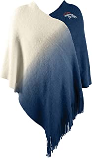 Littlearth NFL Washington Redskins Womens Nflnfl Dip Dye Poncho, Maroon, One Size Fits Most