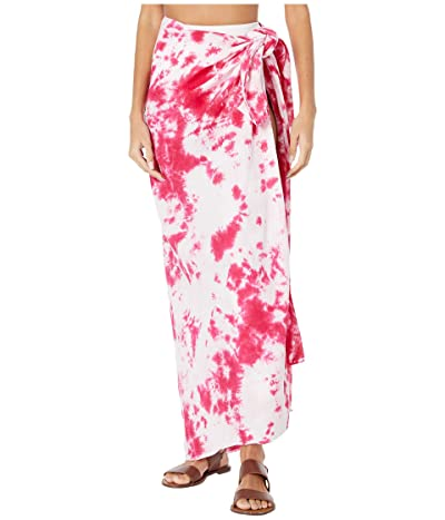 MIKOH SWIMWEAR Toyama Cover-Up (Ink Blot Pink) Women