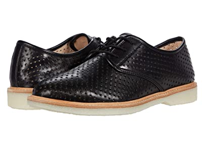 Johnston & Murphy Fiona Perf (Black Italian Nappa Leather) Women