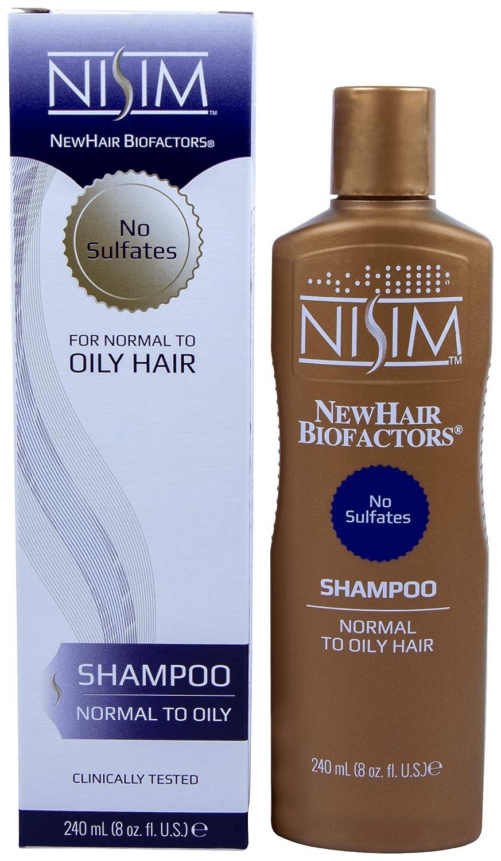 NISIM Choice NewHair Cheap sale BioFactors Shampoo for Normal Deep To Oily Hair -