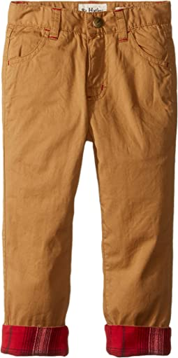 Khakis with Flanel Lined Cuff (Toddler/Little Kids/Big Kids)