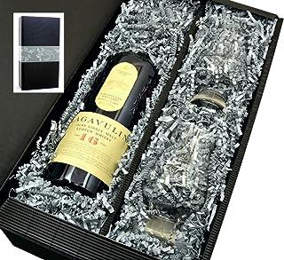 Lagavulin Singe Malt Scotch Whisky 16 Jahre 43% 0,7l mit 2 Glencairn Gläser in Geschenkkarton