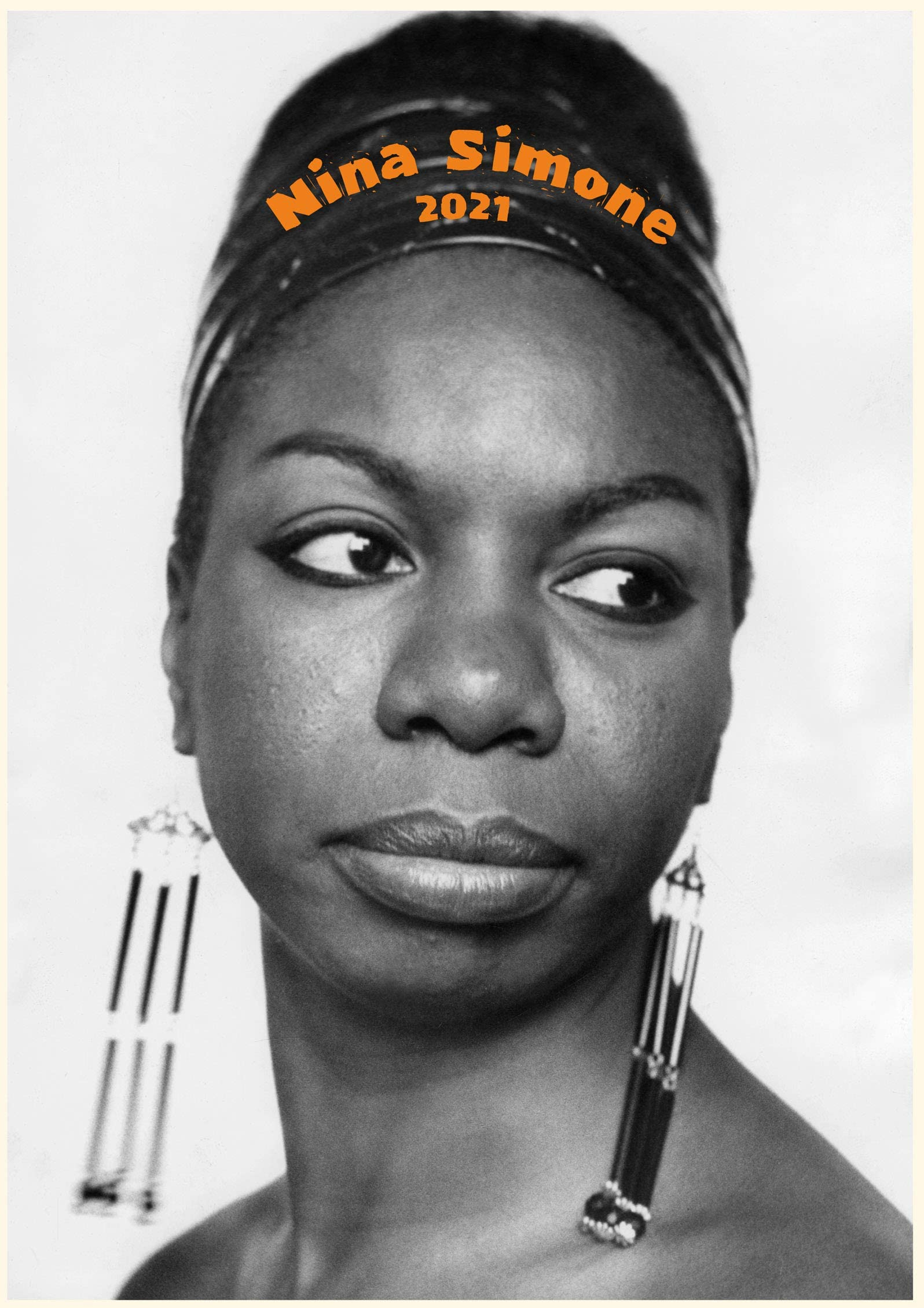 12 pages A4 2021 Wall Calendar SARAH VAUGHAN Vintage Music Poster Photo M1298