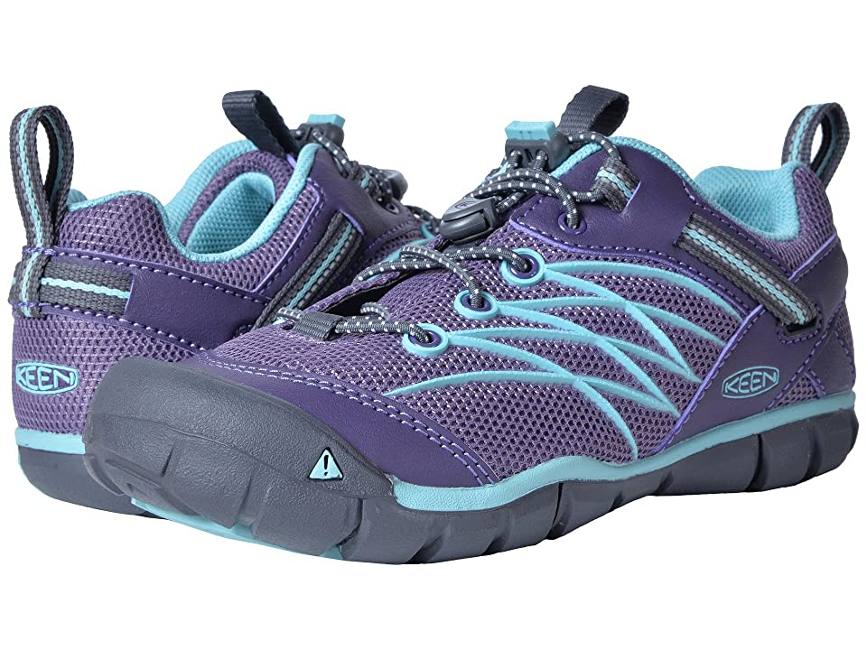 Keen Kids Chandler CNX (Little Kid/Big Kid) (Montana Grape/Aqua Haze) Girls Shoes