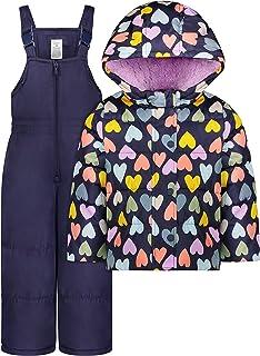 Baby Girls' Heavyweight 2-Piece Skisuit Snowsuit