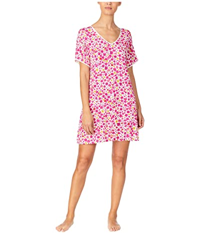 Kate Spade New York Modal Jersey Sleepshirt (Marker Floral) Women