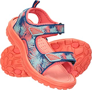 Mountain Warehouse Sand Girls Sandals - Neoprene Kids Beach Shoes, Durable Outsole Summer Shoes, Hook & Loop, Childrens Sh...