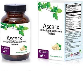 Ascarx - Clinically Proven Natural Blood Sugar Optimizer. FDA Registered Blood Glucose Support Supplement (90 Count)
