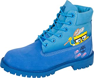 "Timberland Kids 6"" Premium Boot with Lined Tongue - Spongebob (Big Kid)"