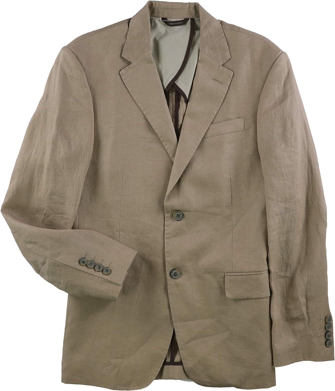 Tasso Elba Men's Island Linen Blazer Jacket
